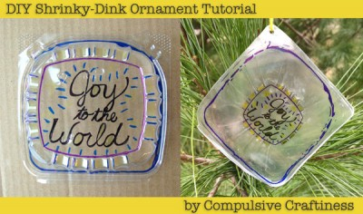 DIY Shrinky Dink Ornaments