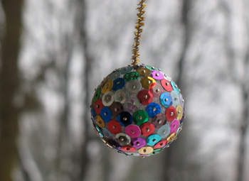 Sparkly Foam Sequin Ball