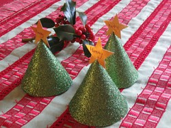 Christmas Tree Table Place Markers