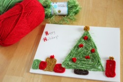 Holiday Yarn Art