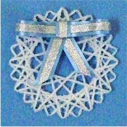 Yarn Snowflake