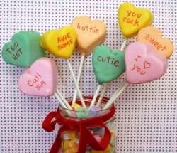 Conversation Heart Pops