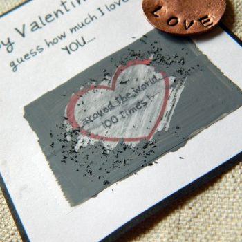 Valentine Scratch Off Cards