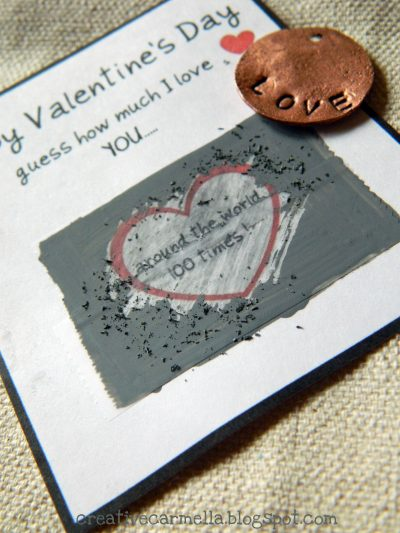 Valentine Scratch Off Cards