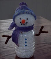Bottle Belly Snowman