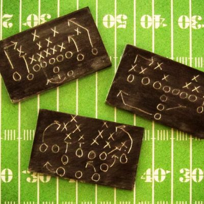 Chocolate Football Chalkboards