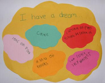 """""""I Have A Dream"""" Cloud"""
