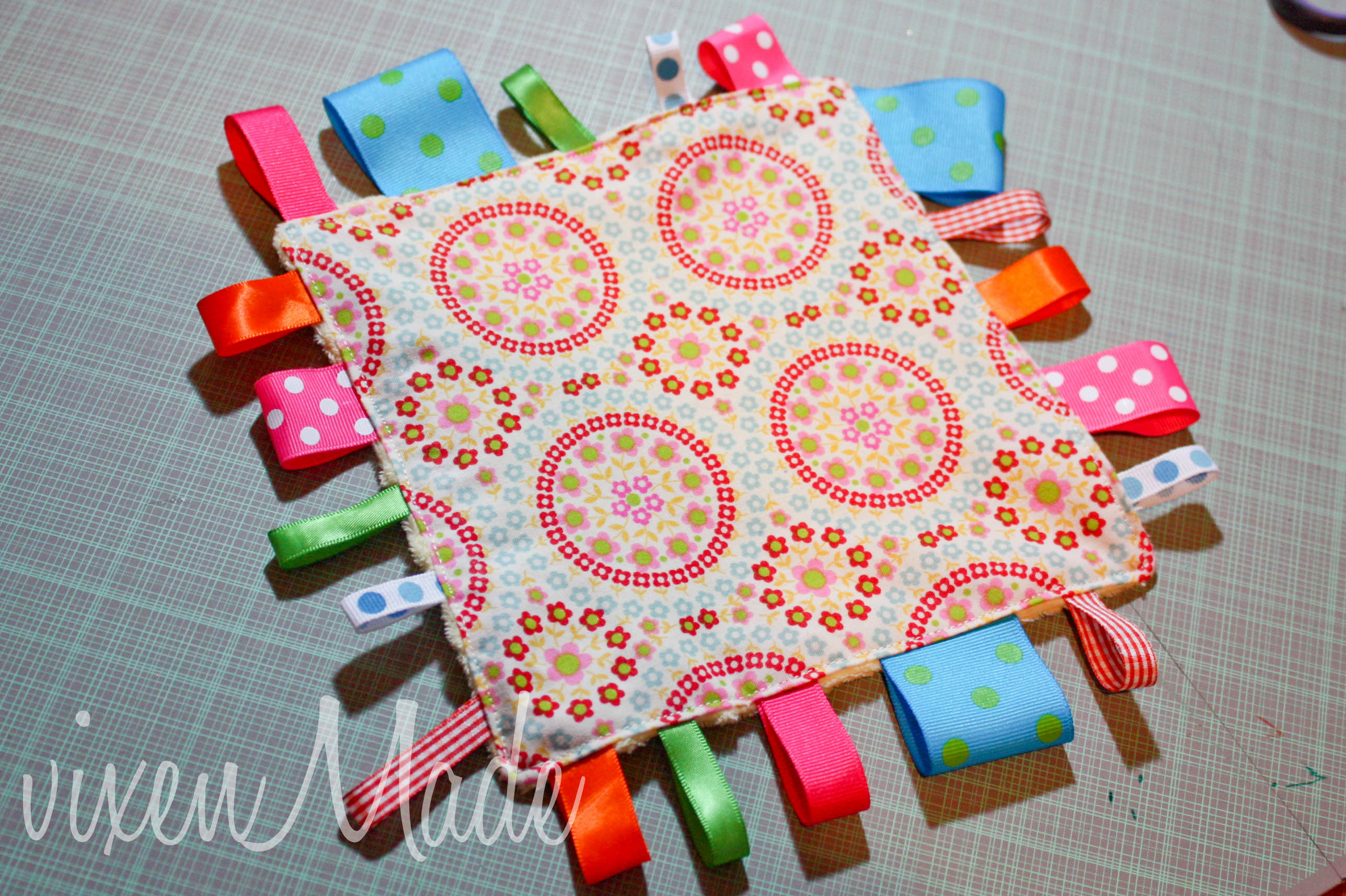 Baby Taggy Blanket Fun Family Crafts