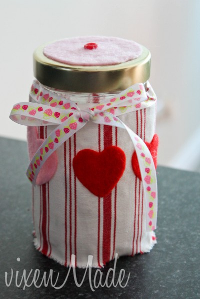Valentine's Day Candy Jar