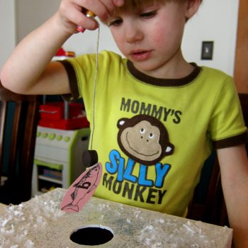 Ice Fishing for Numbers and Letters