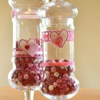 Valentine's Day Candy Jars