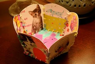 Valentine's Day Card Basket