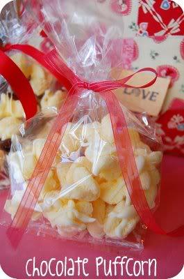 Chocolate Puffcorn