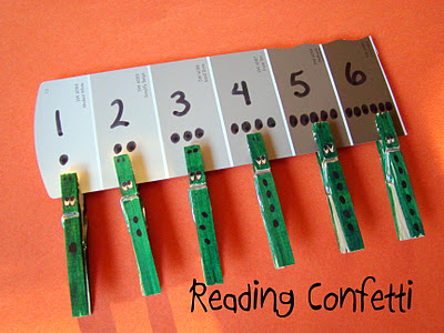 Crocodile Clothespin Counting Fun Family Crafts