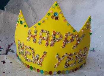 New Year Crown