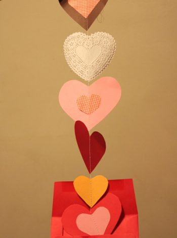 Dangling Garland Valentines