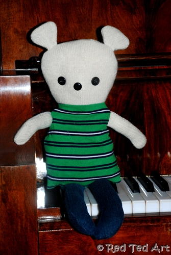 Easy Rag Teddy Bear