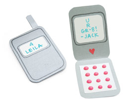 Cell Phone Valentines