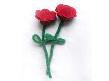 Valentine Foam Roses