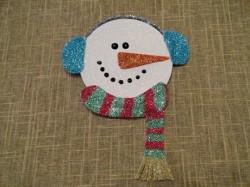 Glitter Snowman CD