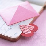 Heart Book Mark