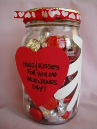 Hugs And Kisses Jar Fun Family Crafts