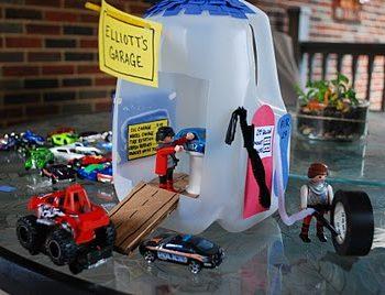 Milk Jug Garage