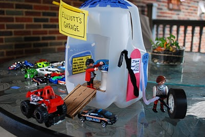 Milk Jug Garage