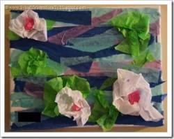 Tissue Paper Monet