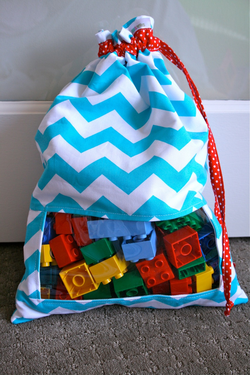Peek A Boo Toy Sack | Fun Family Crafts