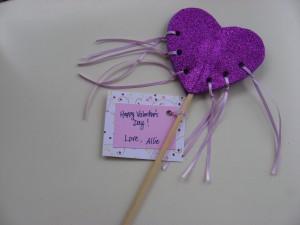 Princess Valentine Wand