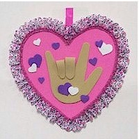 "Sign Language ""I Love You"""