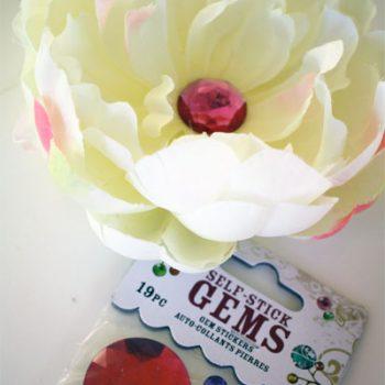 Silk Flower Clip