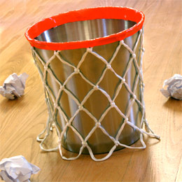 Basketball archives fun family crafts - Cool wastebaskets ...