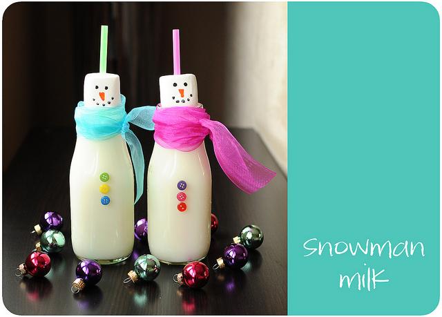 Snowman Milk