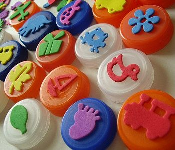 Bottle Top Stamps