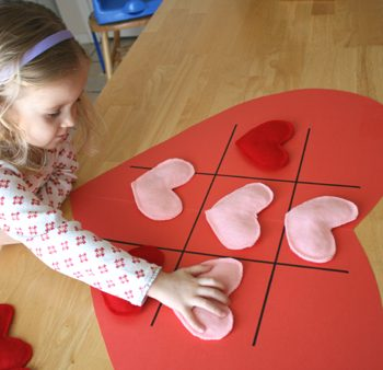 Tic Tac Toe Hearts