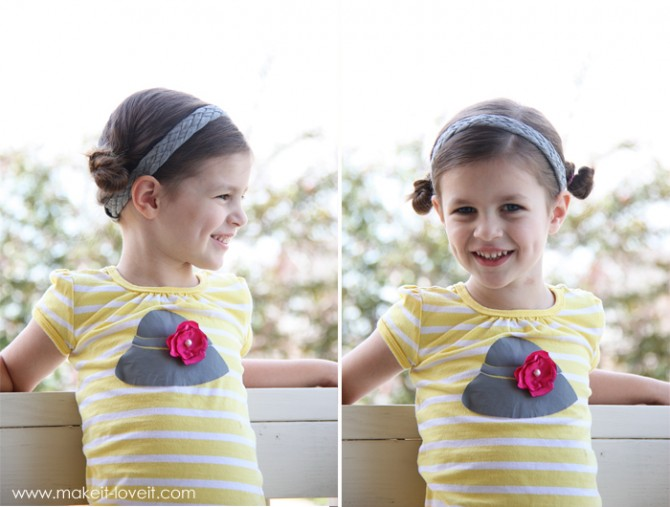 T-Shirt Braided Headbands