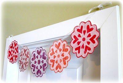 Valentine Snowflake