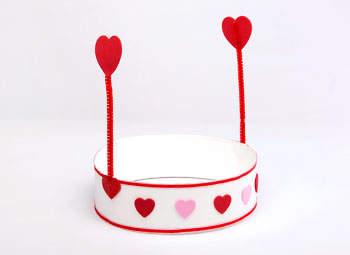Kids' Valentine's Hat
