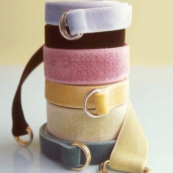 No Sew Velvet Ribbon Belts