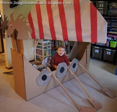 DIY Viking Ship