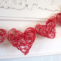 Twine Heart Garland