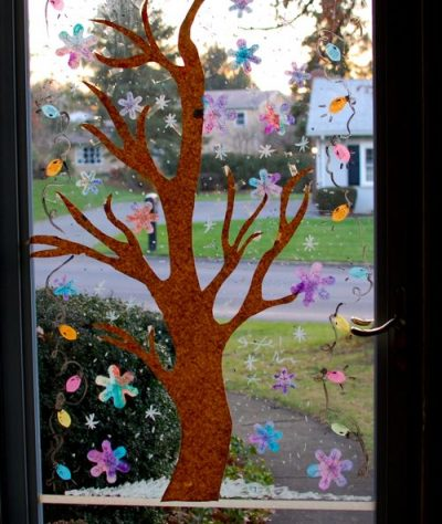 Winter Window Displays