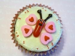 Valentine Bug Cupcakes