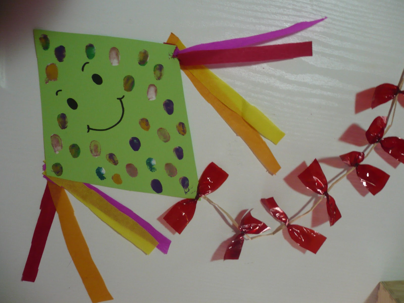 Preschool Kite Craft