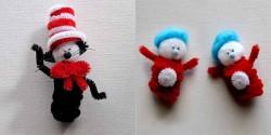 Dr. Seuss Finger Puppets
