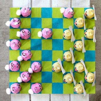 Easter-checkers