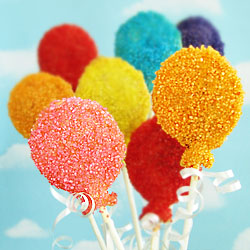 Birthday Balloon Pastry Pops