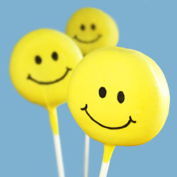 Smiley Face Lollipops